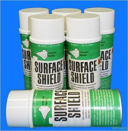400ml_ml 6er Pack SurfaceShield Korrosionsschutz Kriechöl WD40 Alternative