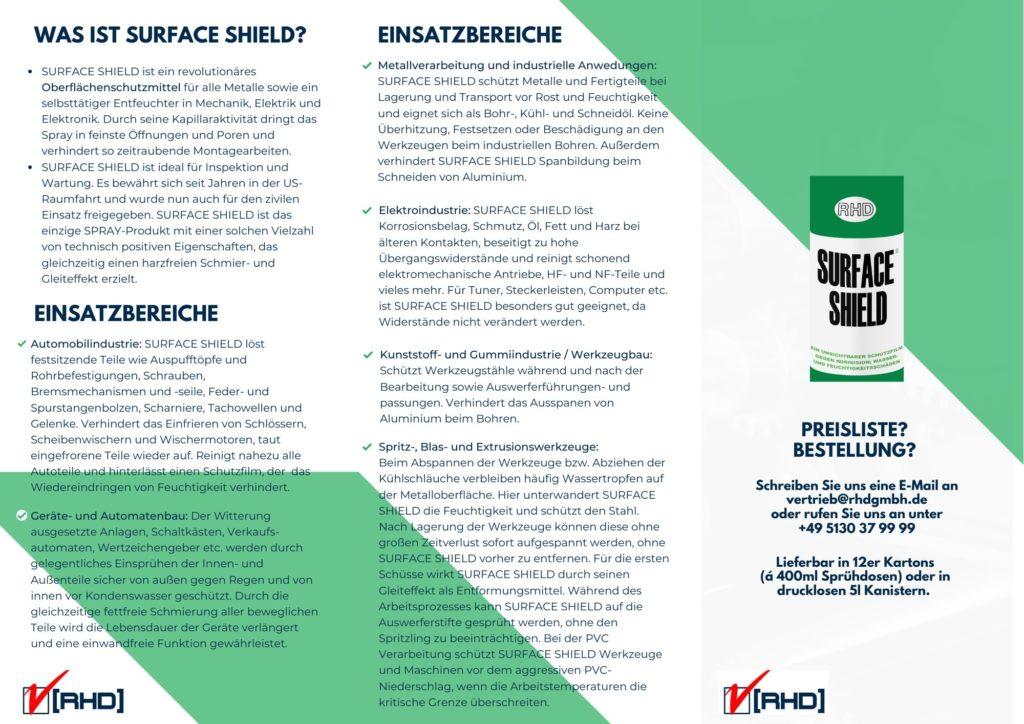 Surface SHield Spray günstig Online Großgebinde